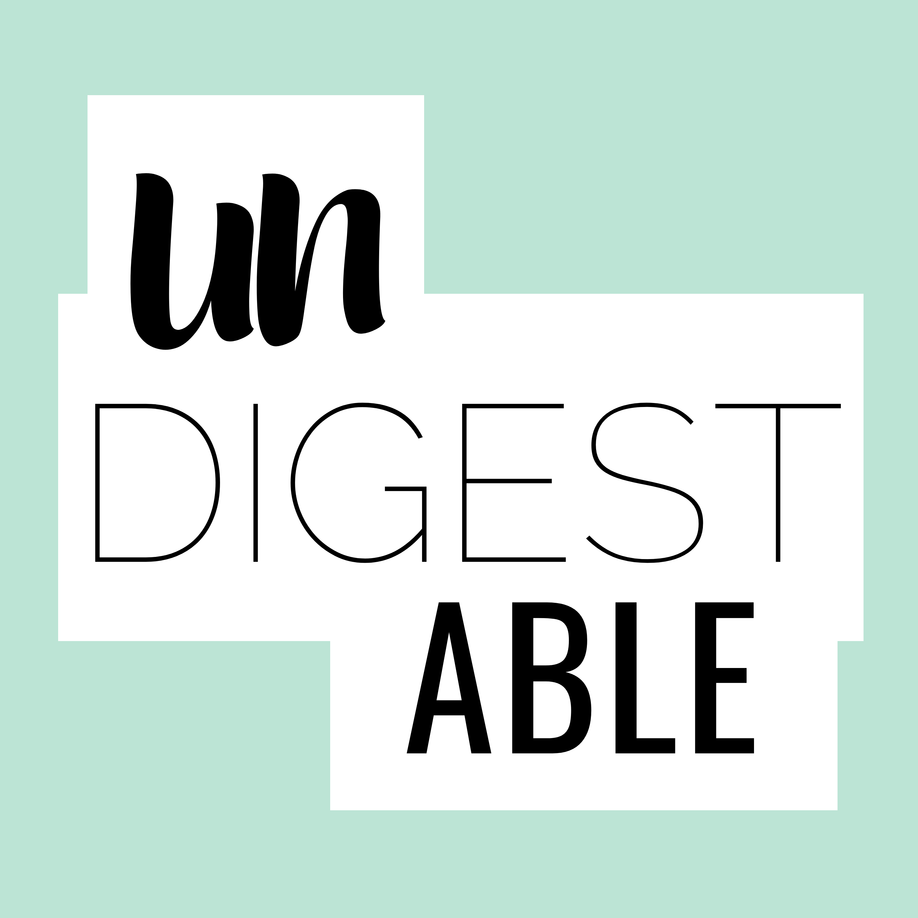 Undigestable